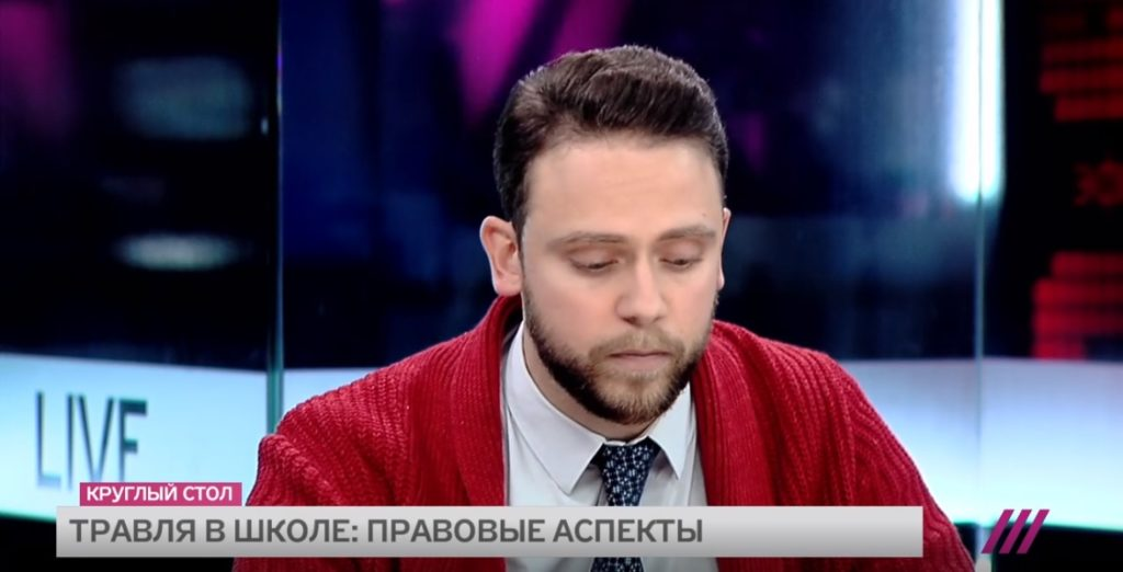 """Адвокат Анатолий Железняк выступил на телеканале """"Дождь"""""""